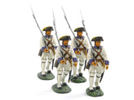 Frontline Figures, IFW.2 The Indian Wars, Roussillon Royal Regiment, Marching