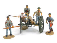 Frontline Figures A.C.G.1. American Civil War Confederate Artillery Firing Cannon