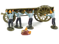 Frontline Figures WZW.4 Zulu Wars Wagon 24th Foot Turning Over Wagon