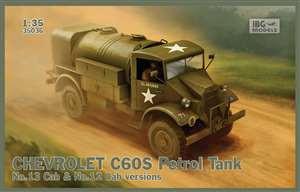 IBG 1/35 Chevrolet C60S Petrol Tank - IBG35036