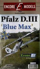 1/72 Encore Models Blue Max Pfalz D.III 'Econo-Kit' - EC72004