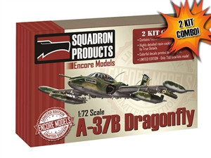 2 Kit Combo Encore 1/72 A-37B Dragonfly LIMITED EDITION EC72104