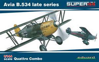Eduard 1/144 Avia B.534 Late Series Quattro Combo Super44 EU4452