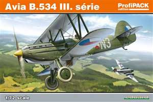 Eduard 1/72 Avia B.534 III. Serie ProfiPack Edition - EU70101