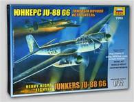 Zvezda Model ZV7269 Junkers JU-88 G6 1/72 Scale