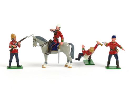 Trophy Miniatures ZS1A The Command Set 24th Foot Regiment Zulu War