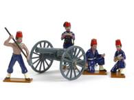 Trophy Miniatures SEQ51C Egyptian Gun Crew Sudan