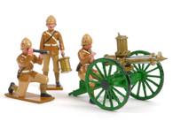 Trophy Miniatures SAS5 Royal Welsh Fusiliers Gatling Gun & Crew Boer Wars