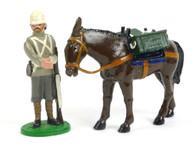 Trophy Miniatures NWF7Y 66th Regiment Royal Berkshire Infantryman with Donkey