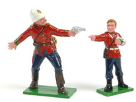Trophy Miniatures ZS39 24th Foot Lt. Colonel Pulleine Protecting Bugle Boy