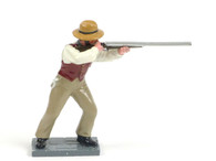 Trophy Miniatures Civilian Standing Firing Rifle