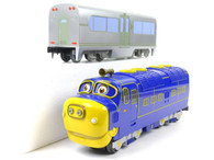 Chuggington 40901 Brewster Diesel Locomotive  and Chuggington Passenger Car 48006 O Gauge Train