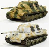 Special offer: Summer and Winter Easy Model Jagdtiger German Tank World War II Ground Armour 1:72 Scale Fully Assembled Model