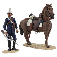 W Britain Anglo-Zulu War 20168 Natal Carbineer Dismounted No.1