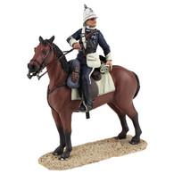 W Britain Anglo-Zulu War 20170 Natal Carbineer Officer Mounted