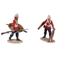 "W Britain Anglo-Zulu War 20167 ""Clearing The Yard"" Set No.3"