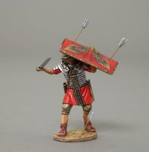 Thomas Gunn Soldiers ROM047A Roman Legionnaire Shield Red Roman Empire 1/30 scale