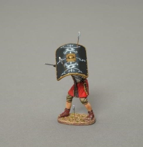 Thomas Gunn Soldiers ROM047B Roman Legionnaire Shield 30th Roman-Empire 1/30 Scale
