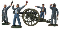 "W Britain 31264 American Civil War ""We Hit 'em Boys!"" Confederate 10-Pound Parrott Gun"