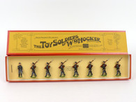 WM Hocker Toy Soldiers Belgium Infantry Marching 1914 Set No 488