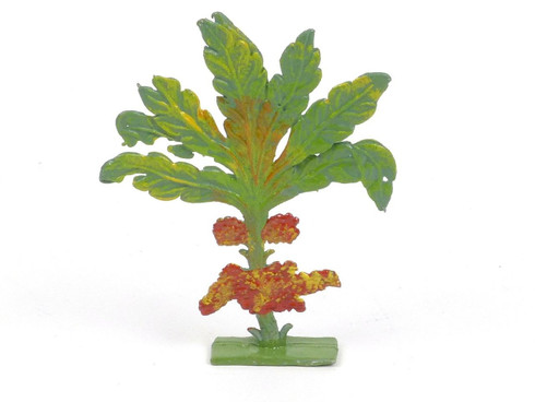 Hornung Art Miniatures Small Bush With Berries 49S Flat Metal Cast Scenery