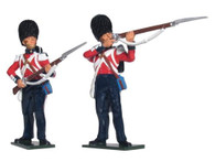W Britain Soldiers 43126 Victoria Cross British Scots Fusiliers Firing Line 54mm