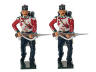 W Britain Soldiers 43084 Victoria Cross British 49th Regiment Advancing 54mm