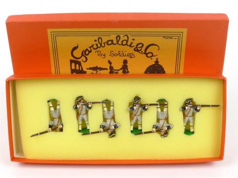 Garibaldi Toy Soldiers ESA Piemont Firing Italian Wars 1859 Luigi Toiati
