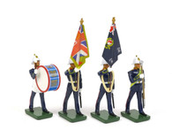 W Britain Royal Marine Set