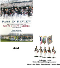"W Britain West Point Cadet Color Guard and ""Pass in Review"" by Clyde W. Cocke combo"