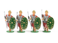 Garibaldi Toy Soldiers RO4 Roman Auxiliaries Advancing with Gladium (Sword)