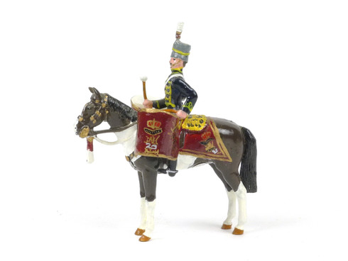 Ducal Traditional Military Figure 11th Hussars Prince Albert's Own DH5