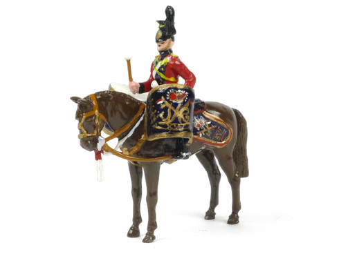 Ducal Traditional Military 16th (The Queen's) Lancers DH9 Kettle Drummer
