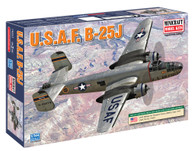 inicraft Model Kit 14653 USAF B-25J Plastic Aircraft Model 1/144 Scale