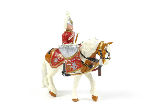 Ducal Traditional Military D17 The Life Guards Mounted Kettle Drummer