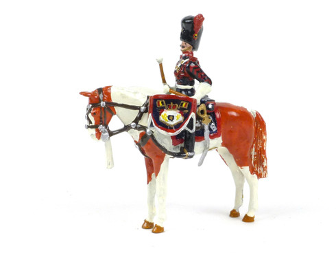 Ducal Traditional Military DH7 The Belgian Royal Escort Mounted Kettle Drummer