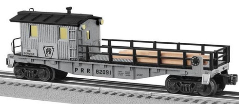 Lionel 6-82091 PRR Pennsylvania Tie Work Car O Gauge Model Trains Railroads