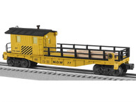 Lionel 6-82092 Maintenance Of Way Tie Work Car O Gauge Model Trains Railroads