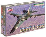 Minicraft Model Kit 14650 USAF F-111E Plastic Aircraft Model 1/144 Scale