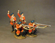 John Jenkins Designs BRLX-04N The Battle of Bushy Run Light Infantry Company Skirmishing