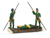 Garibaldi & Co Toy Soldiers B9A Rogers Rangers Raft French Indian War Light Infantry