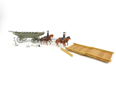 Imperial Production Set No 14 Pontoon & Wagon United States Corps Of Engineers Civil War