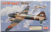 "Minicraft Model Kit 14634 G4 M Type1 ""Betty""  Plastic Aircraft Model 1/144 Scale"