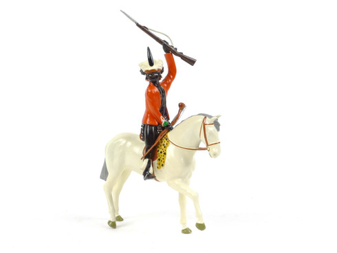 Imperial Production Set No 38b Mounted Zulu Chief with rifle 1879