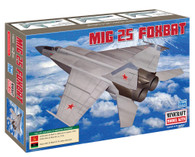 Minicraft Model Kit 14654 MIG 25 Foxbat  Plastic Aircraft Model 1/144 Scale