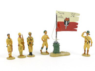 Garibaldi & Co Toy Soldiers LE8 El Alamein Last Flag Hoisting 1942