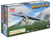 Minicraft Model Kit 14630 USAF F-15 Plastic Aircraft Model 1/144 Scale