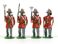 Garibaldi & Co Toy Soldiers L17A Roman Republic of 1849 Marching with Officer