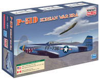 Minicraft Model Kit 14652 P-51D Korean War Era  Plastic Aircraft Model 1/144 Scale