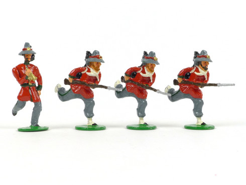 Garibaldi & Co Toy Soldiers L13 Roman Republic 1849 Charging with Bugler
